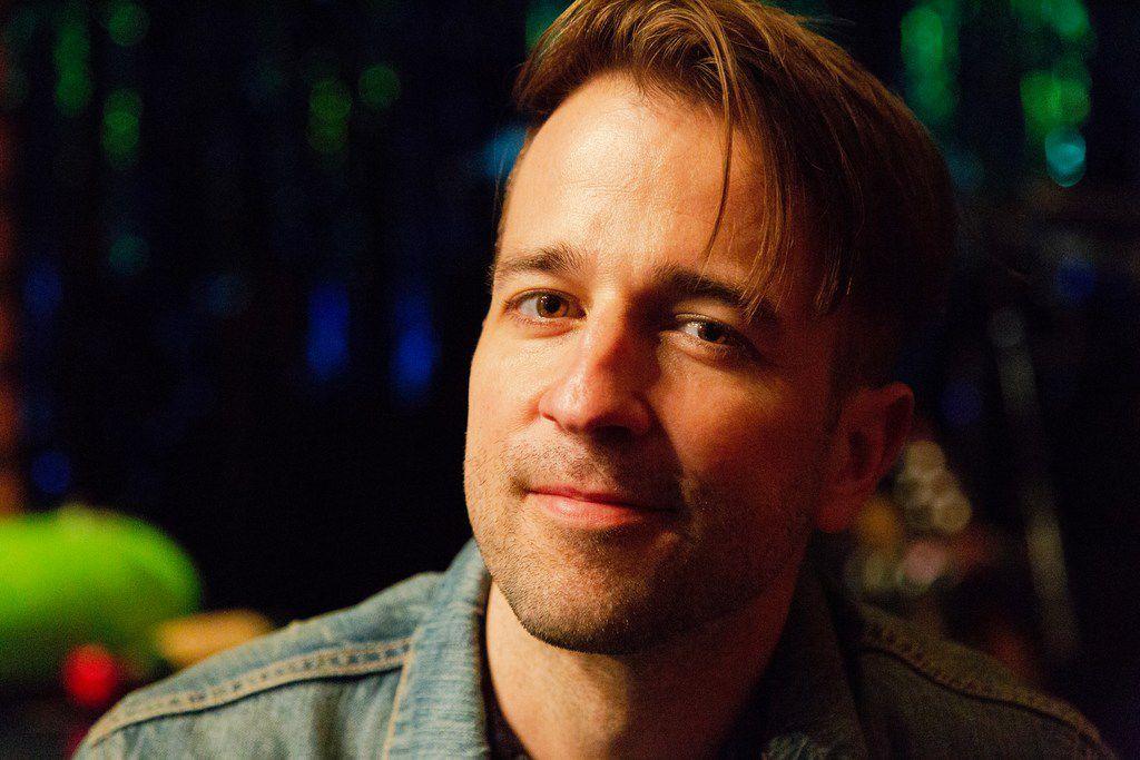 Curtis Holbrook, who grew up in San Antonio, plays Electric Skate in  SpongeBob SquarePants.