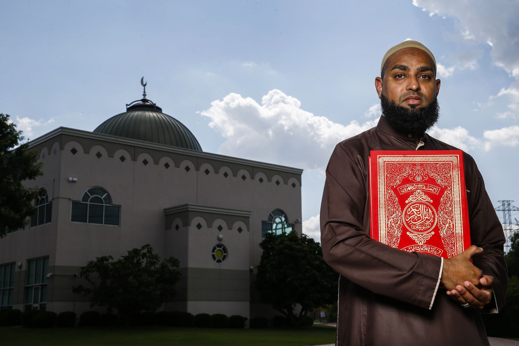 Imam Azhar Subedar at Plano Mosque on Thursday, June 4, 2020 in Dallas.  Since Donald Trump is No. 45 and he is 3.5 years into his presidency, I thought this verse is most fitting. Quran 45:35: That is because you took the signs of Allah in ridicule, and the worldly life deluded you. So that Day, they will not be removed from it, nor will they be asked to appease [Allah].