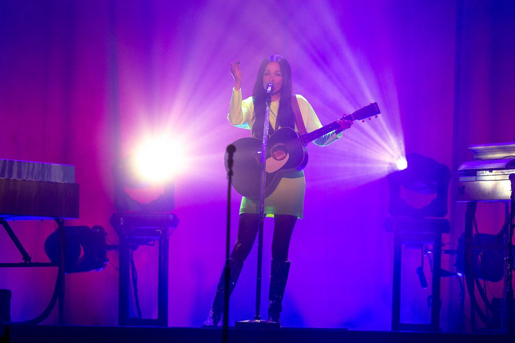 Kacey Musgraves performs at The Bomb Factory in Dallas on Friday, March 8, 2019.