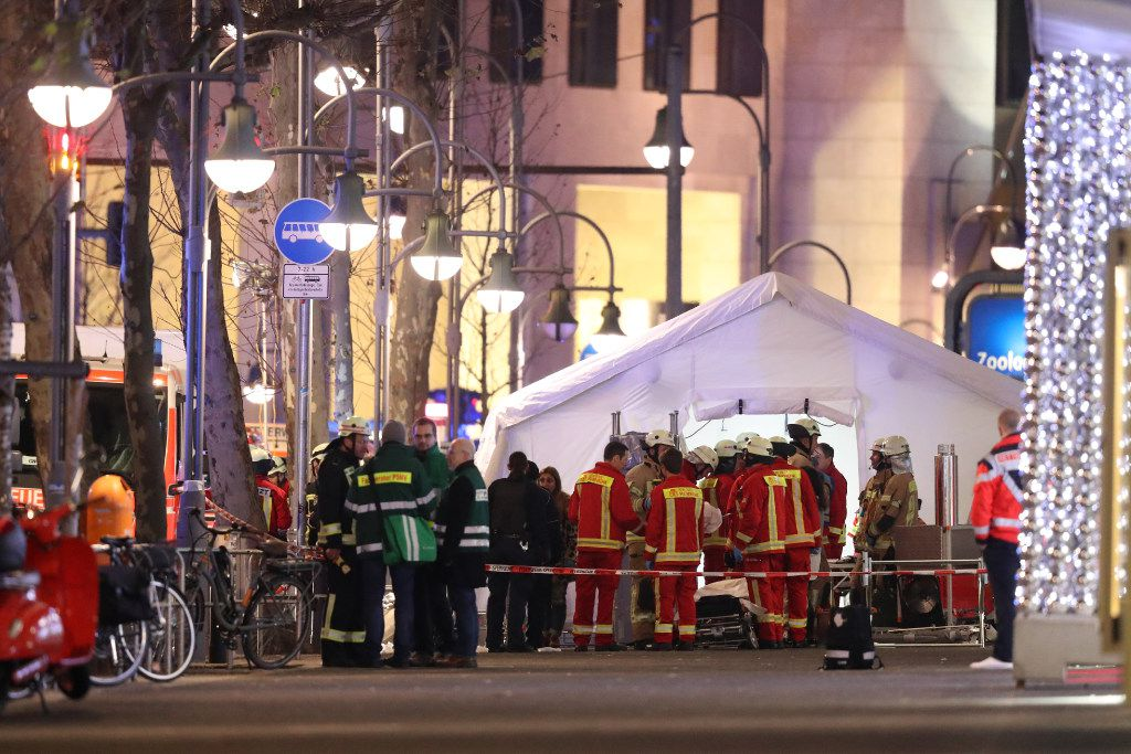 At Least 12 Killed In Berlin Christmas Market Attack