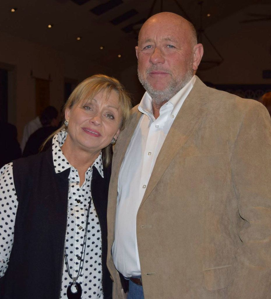 Farris Wilks and his wife, JoAnn, shown in a photo posted to the Facebook page of the Assembly of Yahweh, 7th Day church, in Rising Star, are bankrolling son-in-law Jon Francis' bid for Texas House.