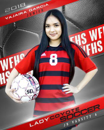 Yajaira Garcia played on the junior varsity soccer team for three years. (Wichita Falls High School)