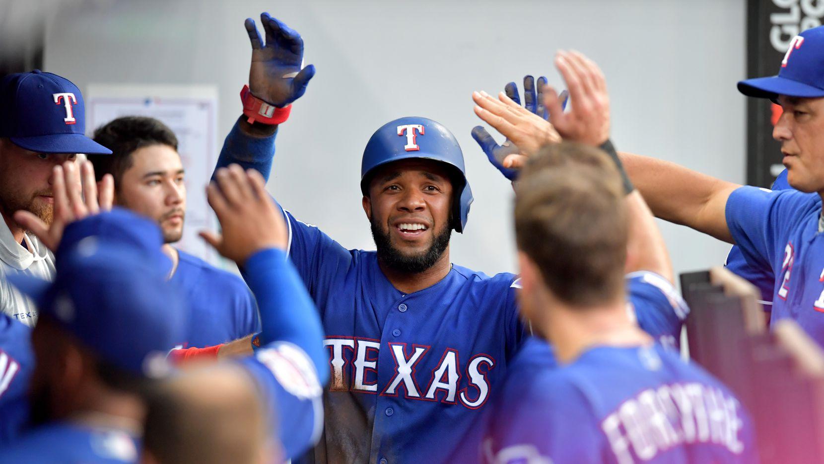 """Elvis Andrus de los Texas Rangers escogió el apodo """"El comando"""" para portar en su jersey durante el MLB's Players' Weekend."""