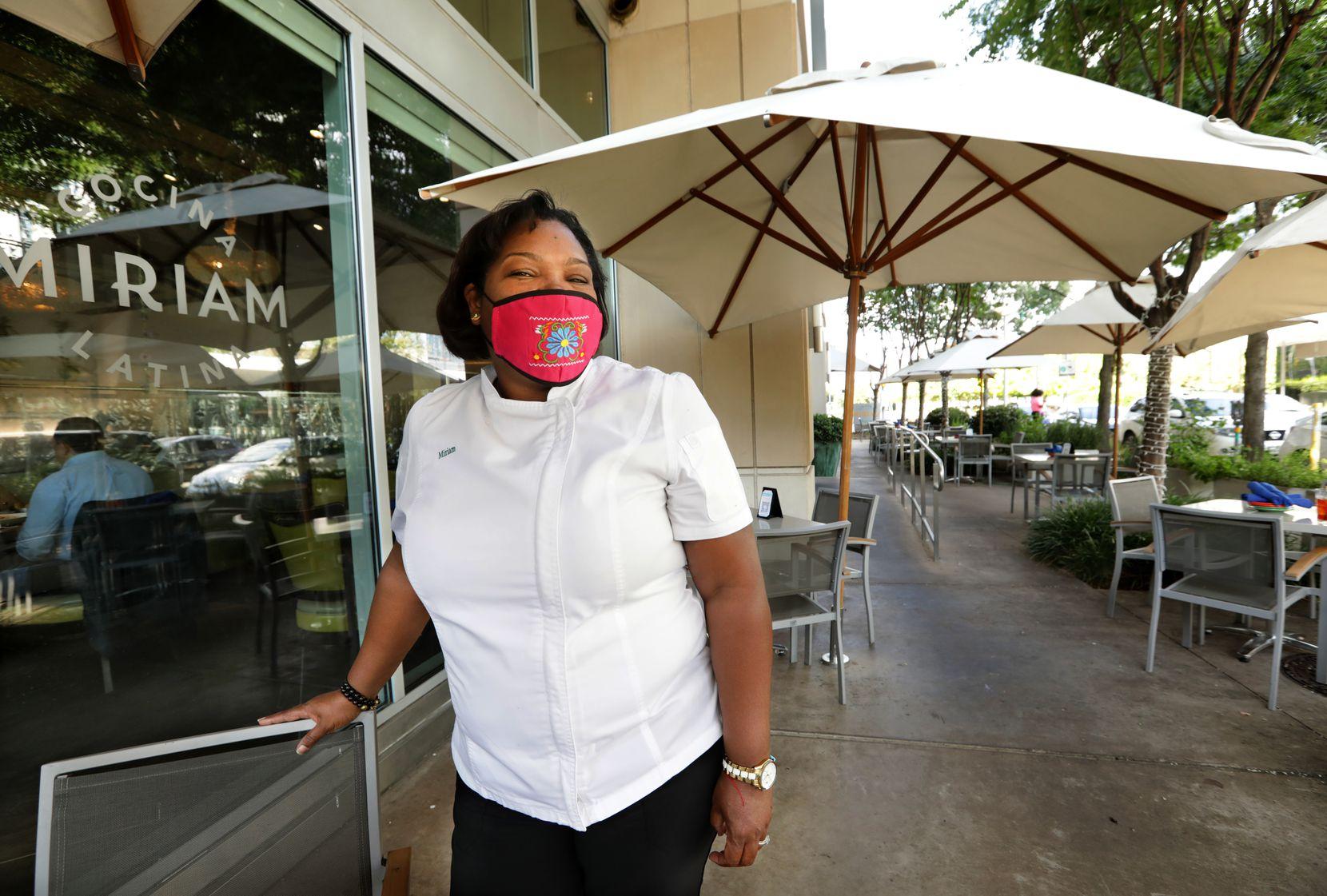 Miriam Jimenez is head chef at Miriam Cocina Latina in Dallas.