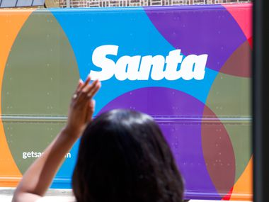 New retail concept Santa has two trucks that are coming to customers in Plano and Frisco.
