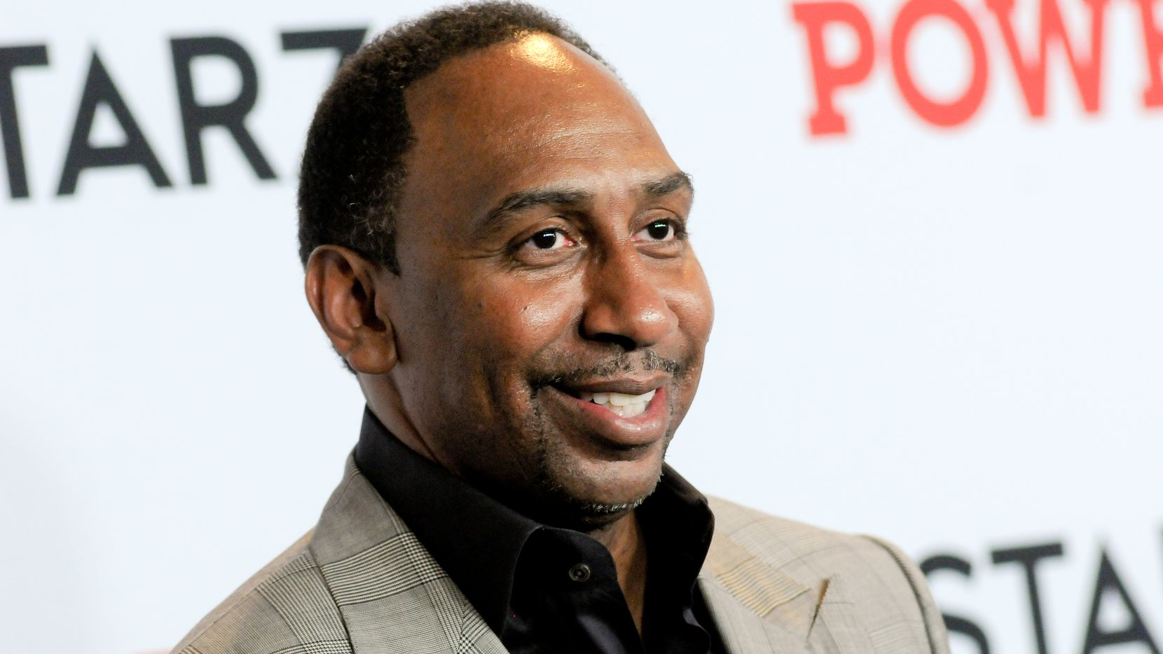 MADISON SQUARE GARDEN, NEW YORK CITY, NY, UNITED STATES - 2019/08/20: Stephen A. Smith attends the Power Final Season Premiere held at Madison Square Garden in New York City.