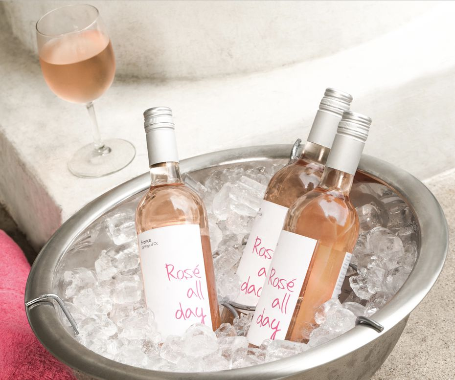 Rose All Day, while a lifestyle for the pool party set, is also a brand of wine from Biagio Cru Wines & Spirits.