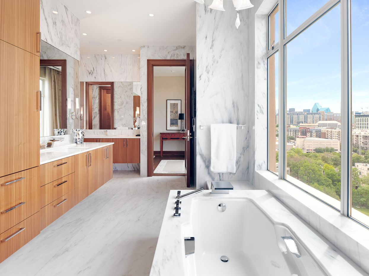Take a look at this condo inside the exclusive Mansion Residences at 2801 Turtle Creek Blvd., Unit 10W.