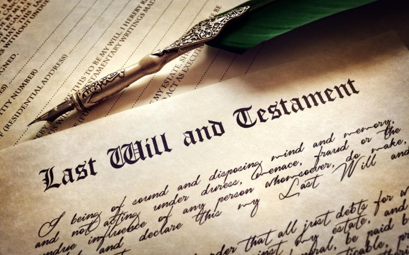 The laws of descent and distribution only come into play if someone does not leave a will that distributes his or her entire estate.