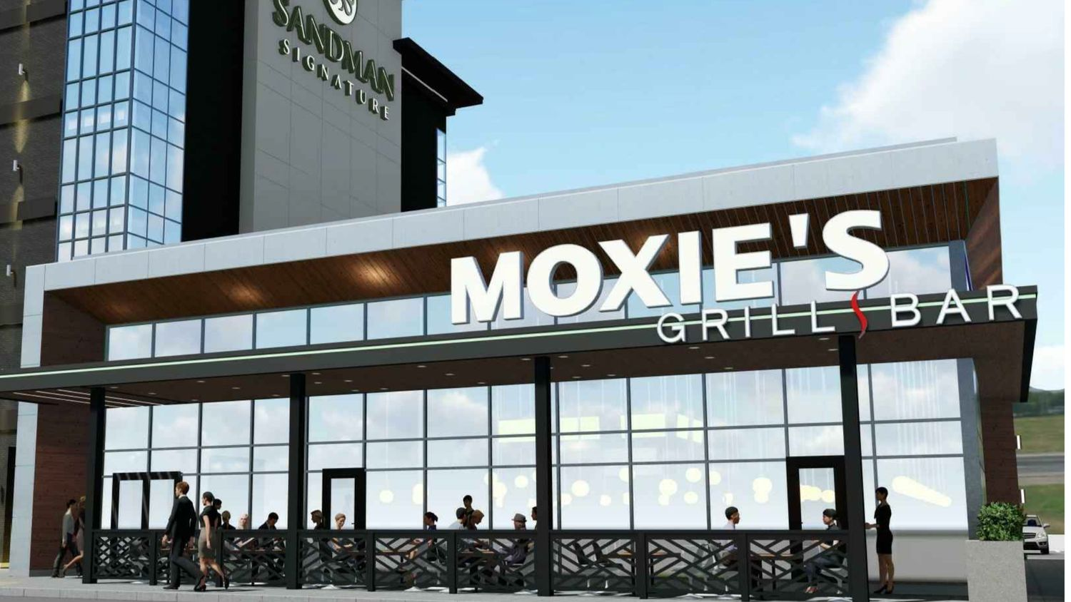 The Sandman Signature hotel will include a bar and grill on the ground floor.