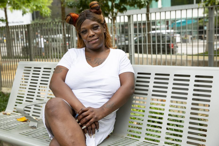 Sydnee Walker, a former Cottages of Hickory Crossing resident, says there are too many obstacles in Dallas that fuel a vicious cycle for those wanting to survive.