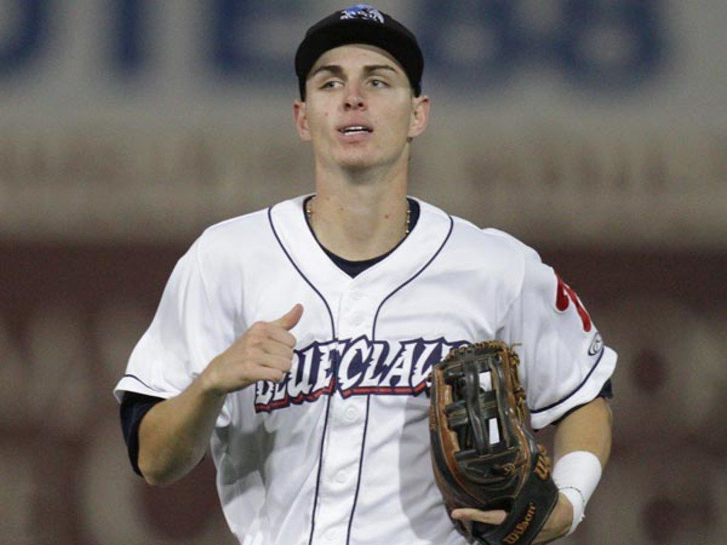 Carlos Tocci, playing with the Lakewood Blueclaws,of the Low-A South Atlantic League. Drafted by the Texas Rangers on Dec. 14, 2017.