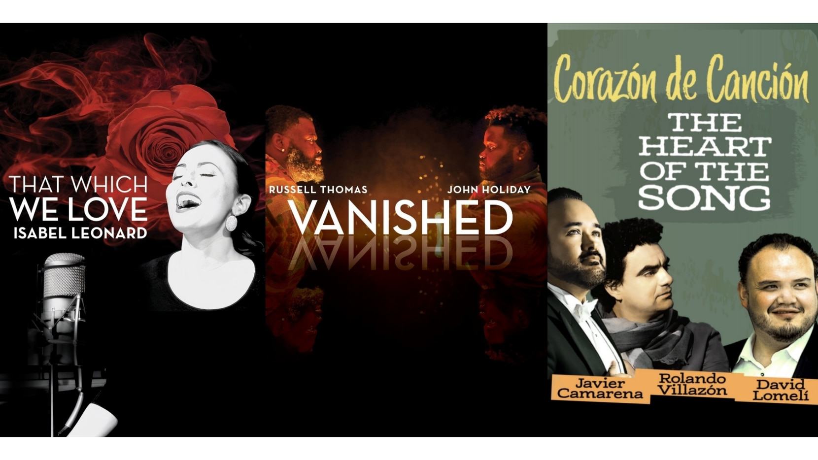 Three current Originals on thedallasopera.TV are available to all at a pay-per-view price, no subscription required.