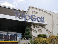 The Topgolf location in The Colony.