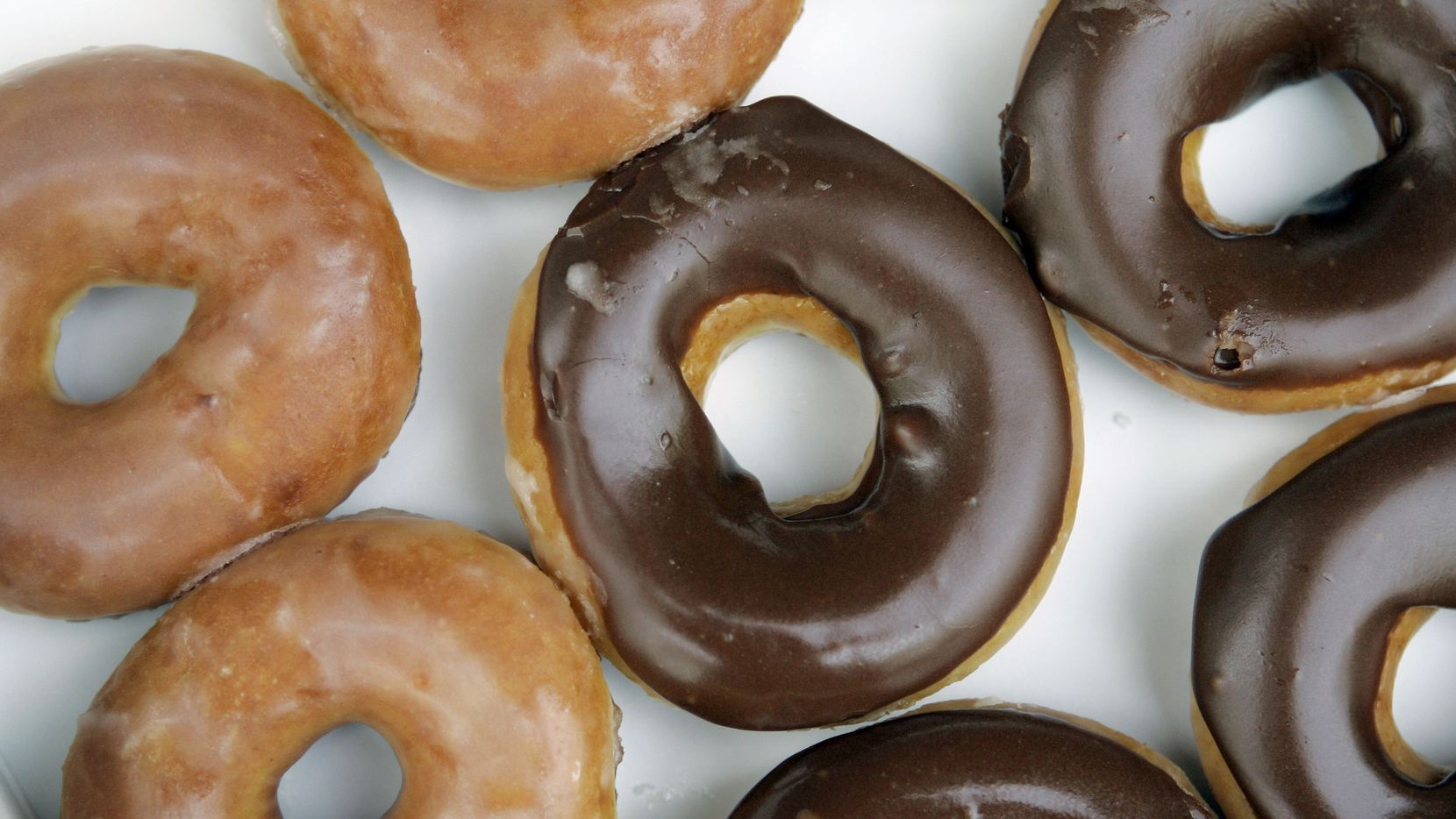 Krispy Kreme's signature glazed doughnuts are free for those in Dallas-Fort Worth who have received at least one COVID-19 vaccine.