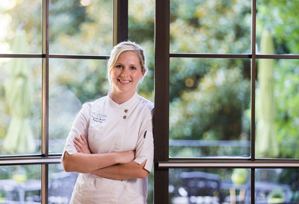 Jacquelynn Beckman is pastry chef at The Mansion Restaurant at Rosewood Mansion on Turtle Creek.