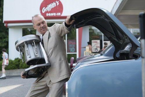 """Michael Keaton en """"The Founder"""". Foto cortesía de The Weinstein Company"""