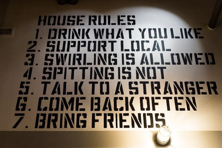 Rule No. 1: Drink what you like.