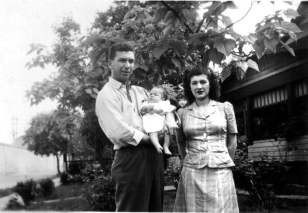 Betty and Bob had their first child, a son named Crys, in February 1944. Three years later, they had another son, Robin, and seven years after that, a daughter, Terry.