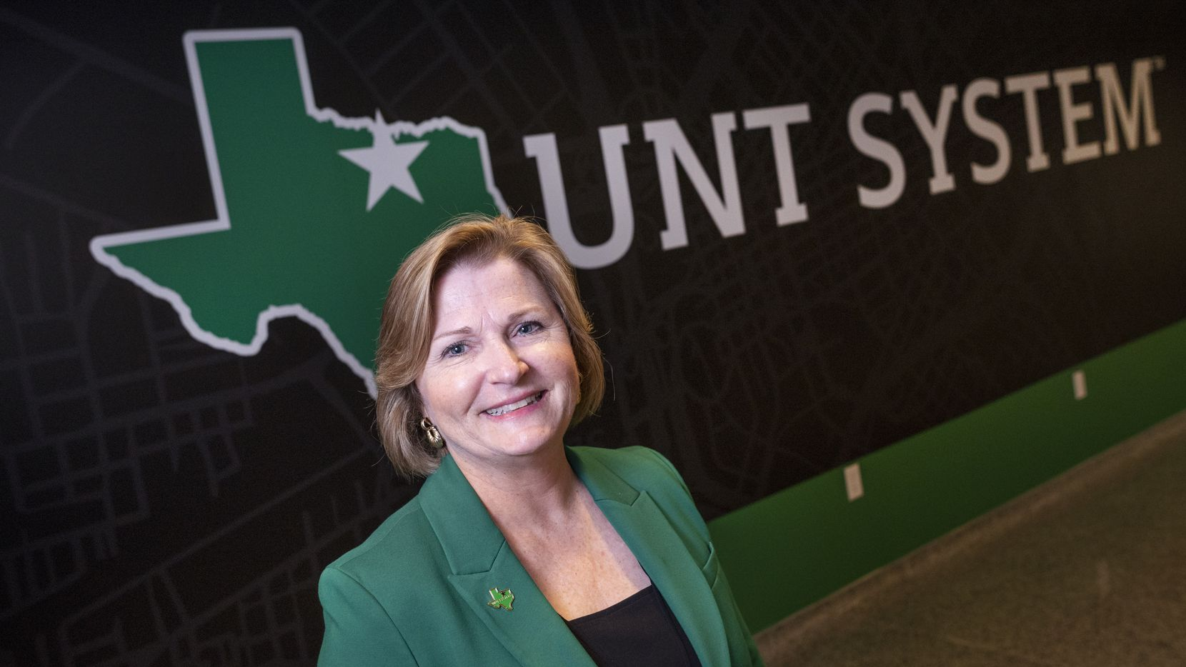 University North Texas System Chancellor Lesa Roe at UNT System Headquarters in Downtown Dallas, on Thursday, June 24, 2021.