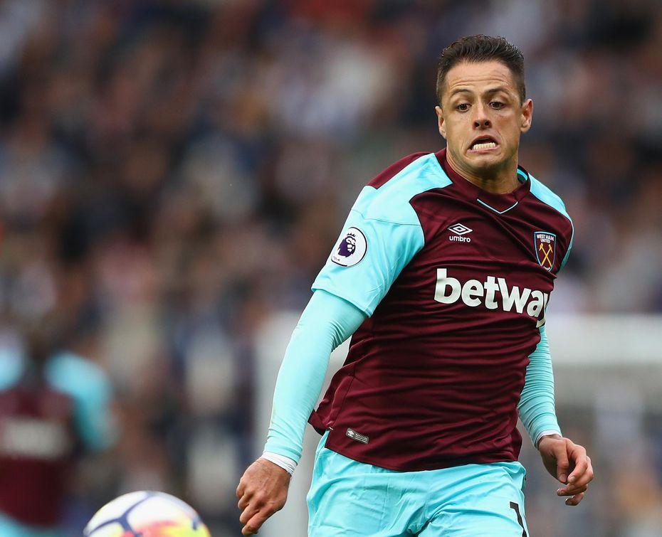 """Javier """"Chicharito"""" Hernández en su época con el West Ham de la Liga Premier. (Getty Images/Michael Steele)"""