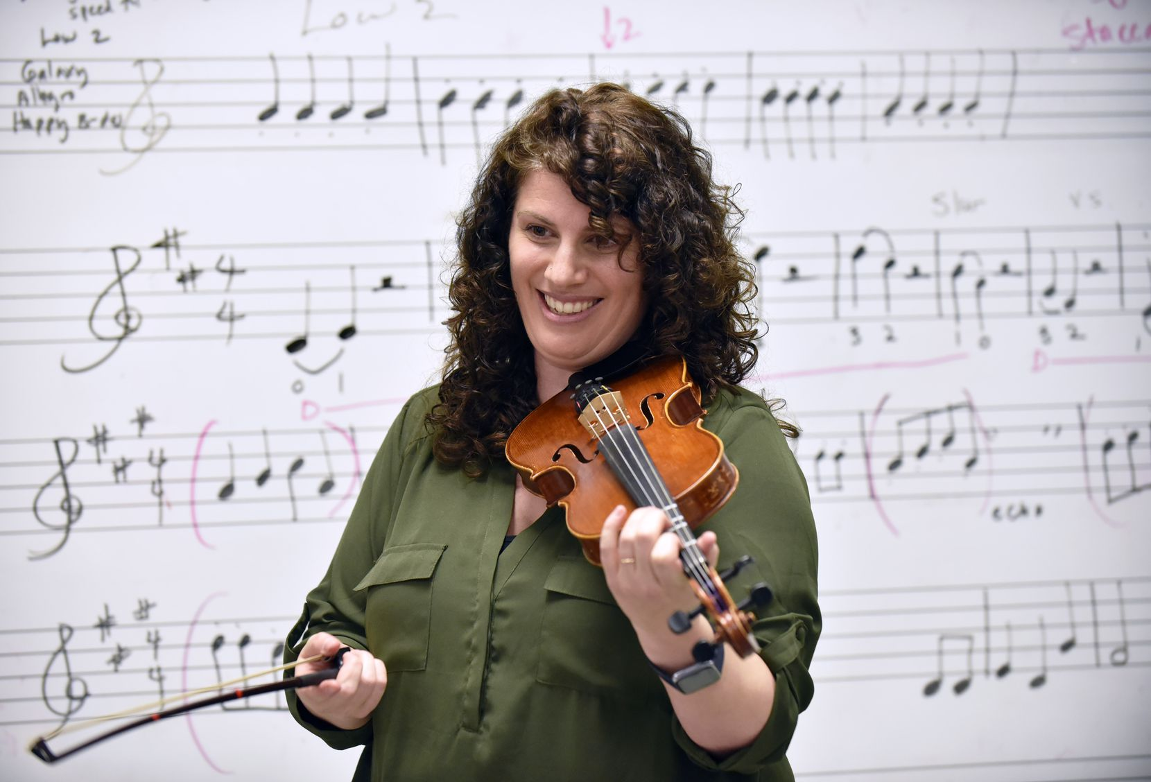 "Music teacher and professional violinist Nicole Melki says, ""I want my students to become agents of their futures and to begin to tap into who they are in a new way, in a way they may not yet even have language for."""
