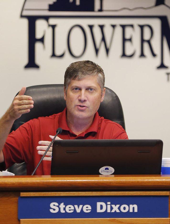 Steve Dixon, candidate for Flower Mound mayor