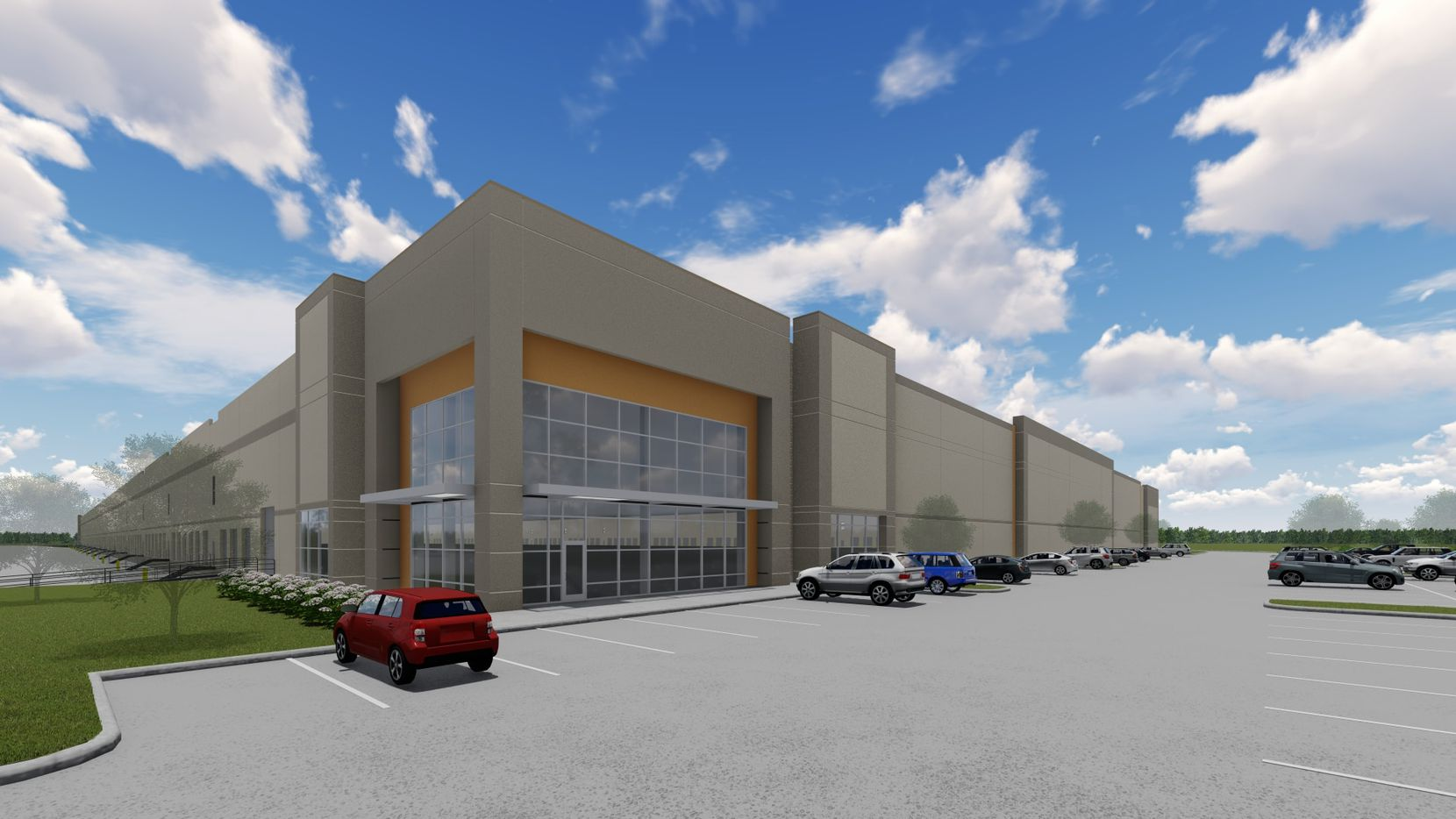 Exeter Property Group has already built and leased one warehouse in Denton.