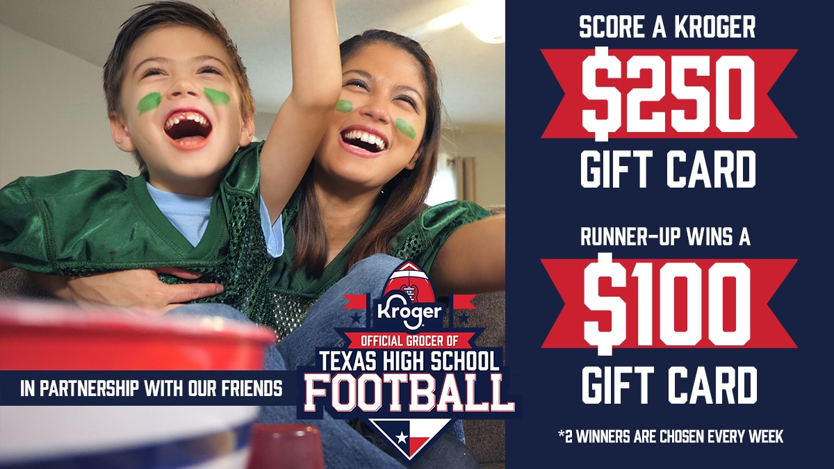 Enter to win a Kroger gift card.