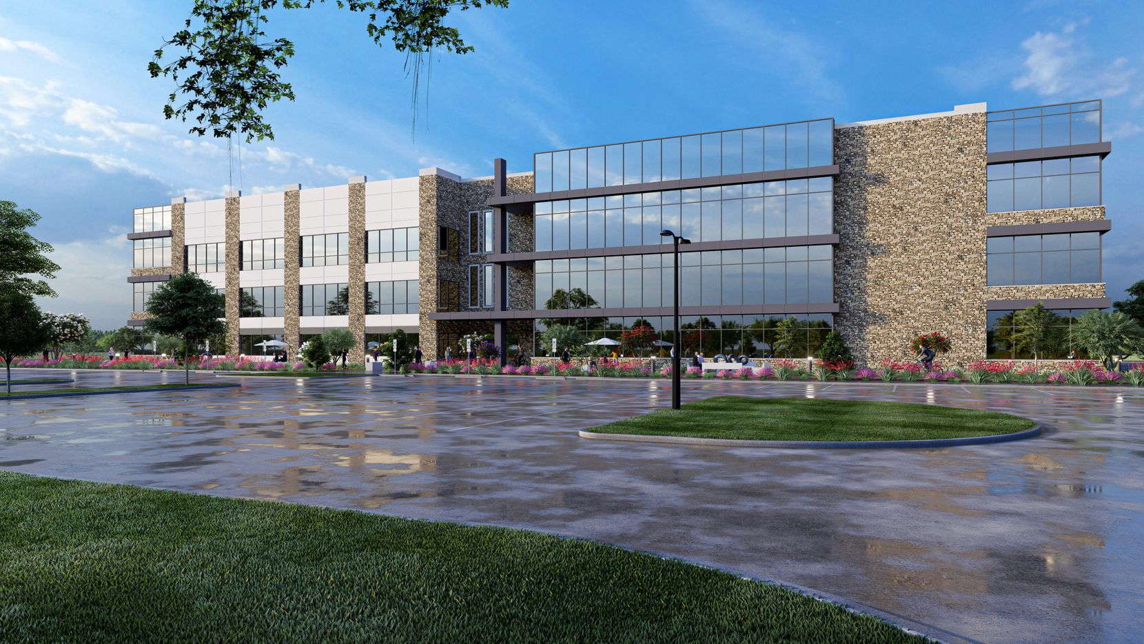 Construction will start on the new office project in early 2021.