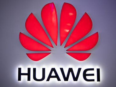 In this photo taken on May 27, 2019, a Huawei logo is displayed at a retail store in Beijing. - China is digging in for a tough period of deteriorating ties with the United States, fanning the flames of patriotism with Korean War films, a viral song on the trade war, and editorials lambasting Washington. (Photo by FRED DUFOUR / AFP)FRED DUFOUR/AFP/Getty Images