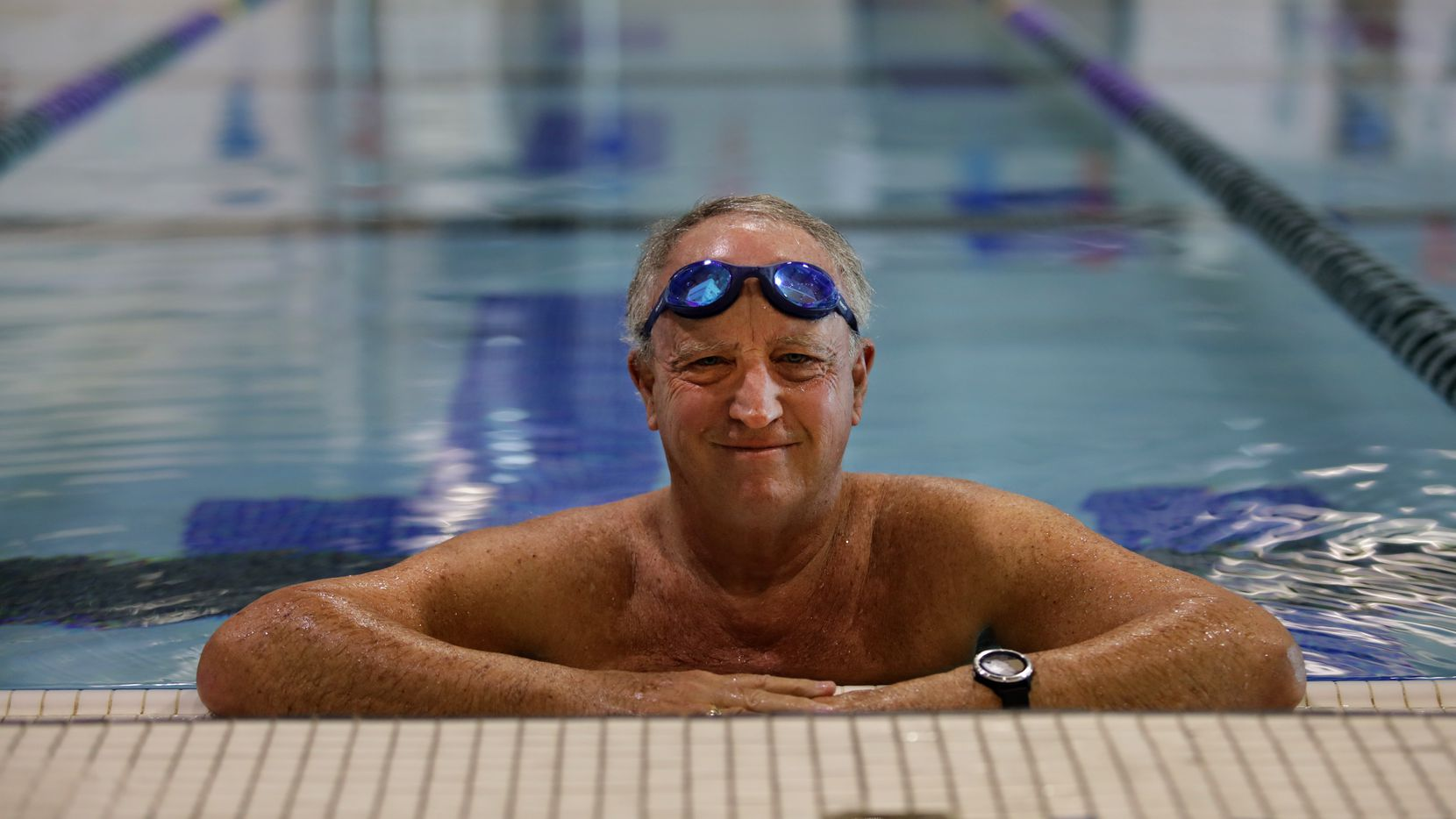 Peter Goodspeed, 70, of Richardson turned to swimming to get back into shape after his recovery from prostate cancer made it difficult to continue his running habit.
