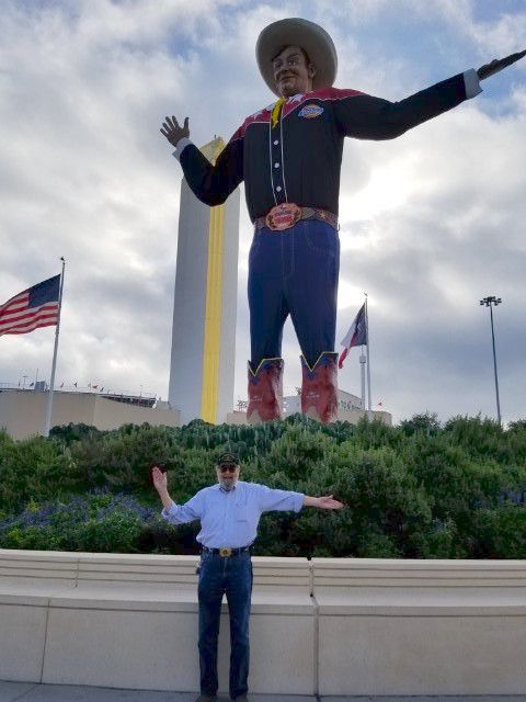 "Robert ""Bob"" Boykin was the voice of Big Tex at the State Fair of Texas from 2013 to 2019."
