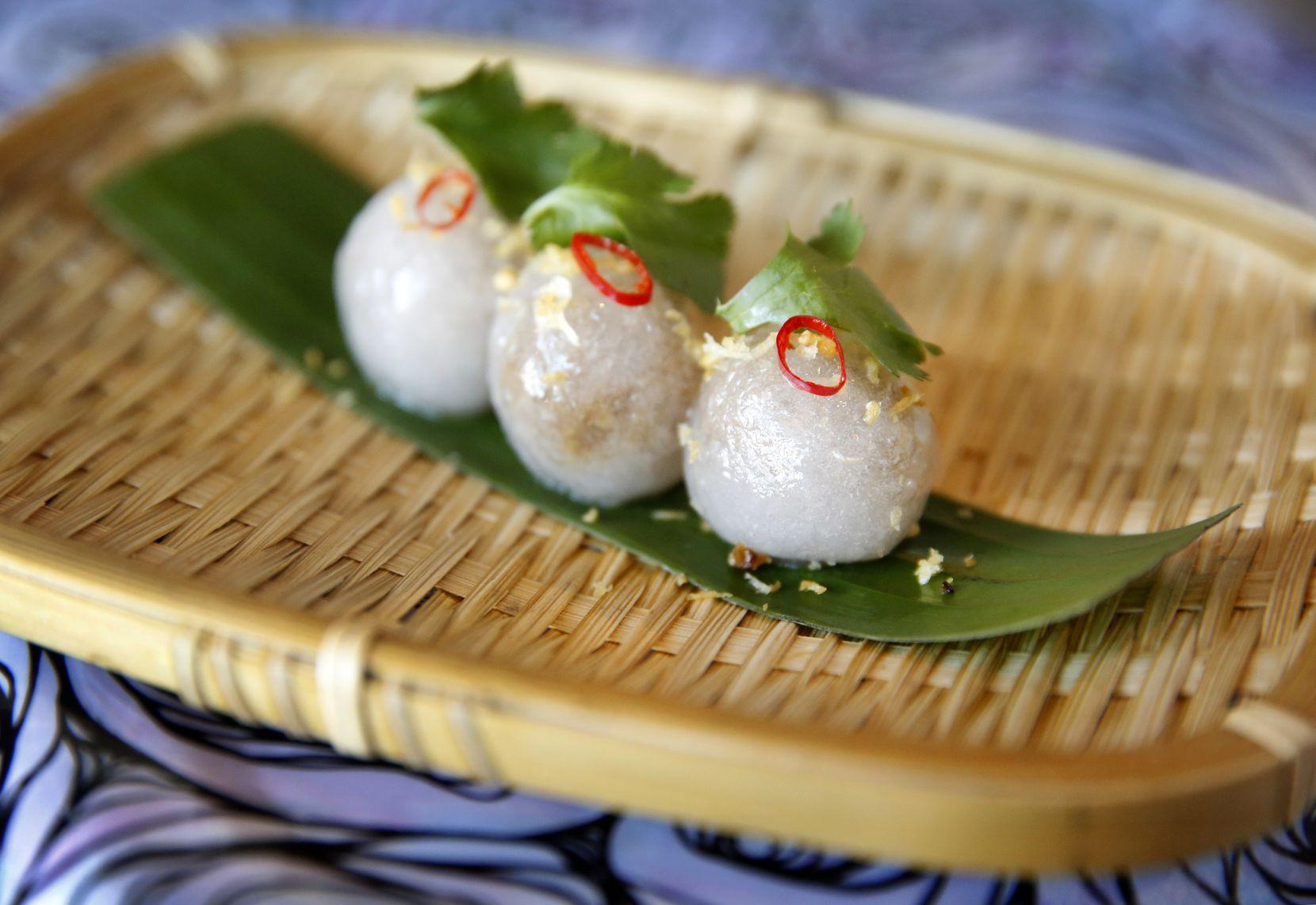 Sakoo are served at the Khao Noodle Shop