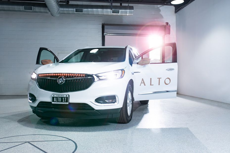 One of the SUVs operated by ridesharing startup Alto.