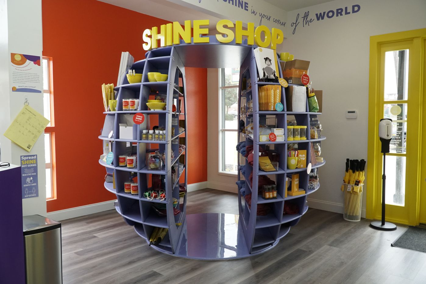 The Shine Shop has paraphernalia at House of Shine in Grapevine, Texas on Friday, November 20, 2020.  (Lawrence Jenkins/Special Contributor)