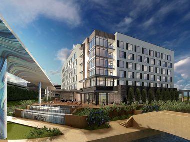 The Hotel Indigo in Las Colinas starts construction next year.