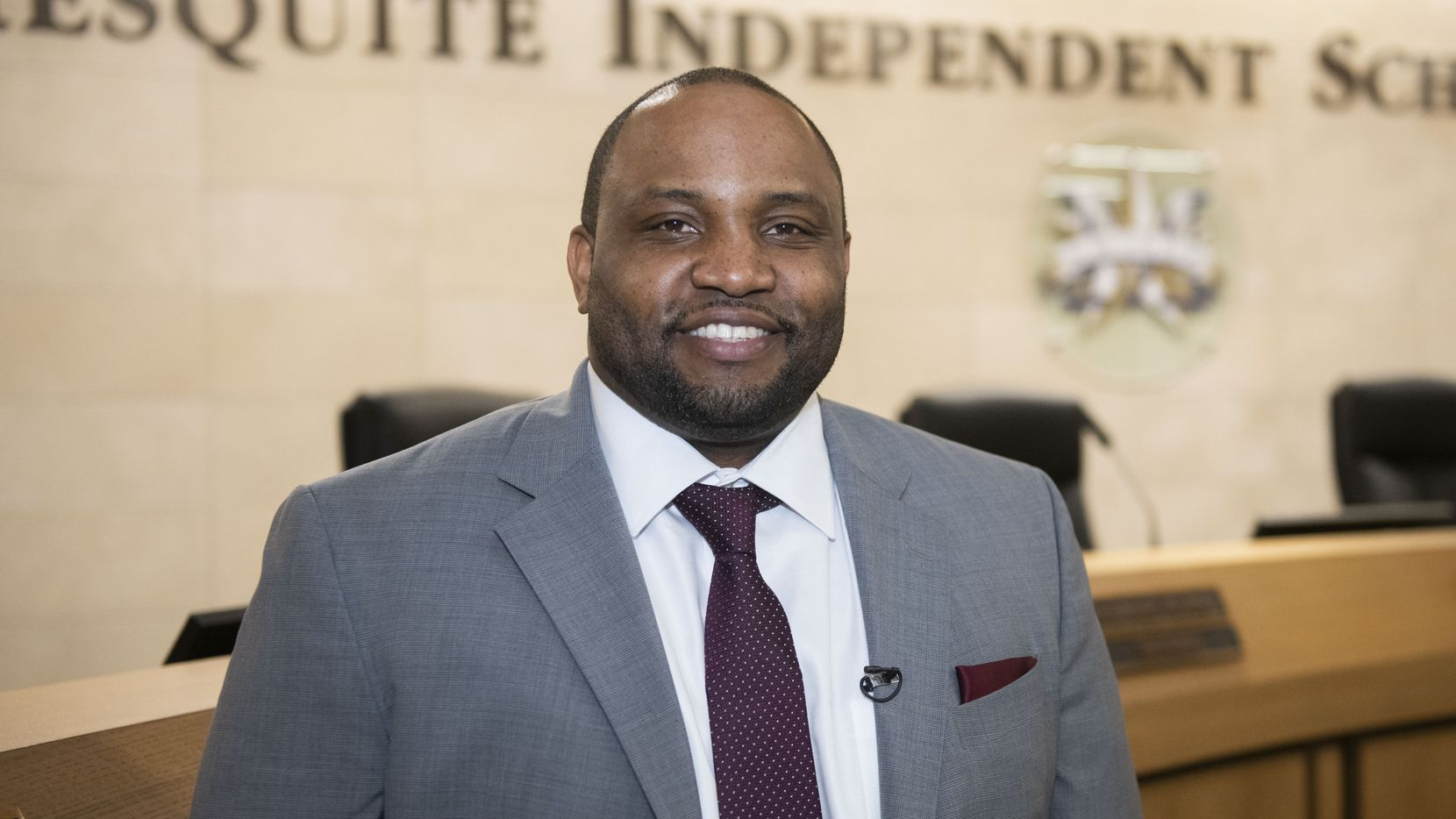 Cedar Hill defensive coordinator DeMarcus Harris was announced as the head coach at Mesquite on Friday.