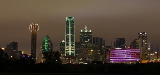 The Dallas skyline was a hit with participants in USA Today's Best International Skyline readers' choice poll, beating out No. 2 Chicago and No. 5 New York.