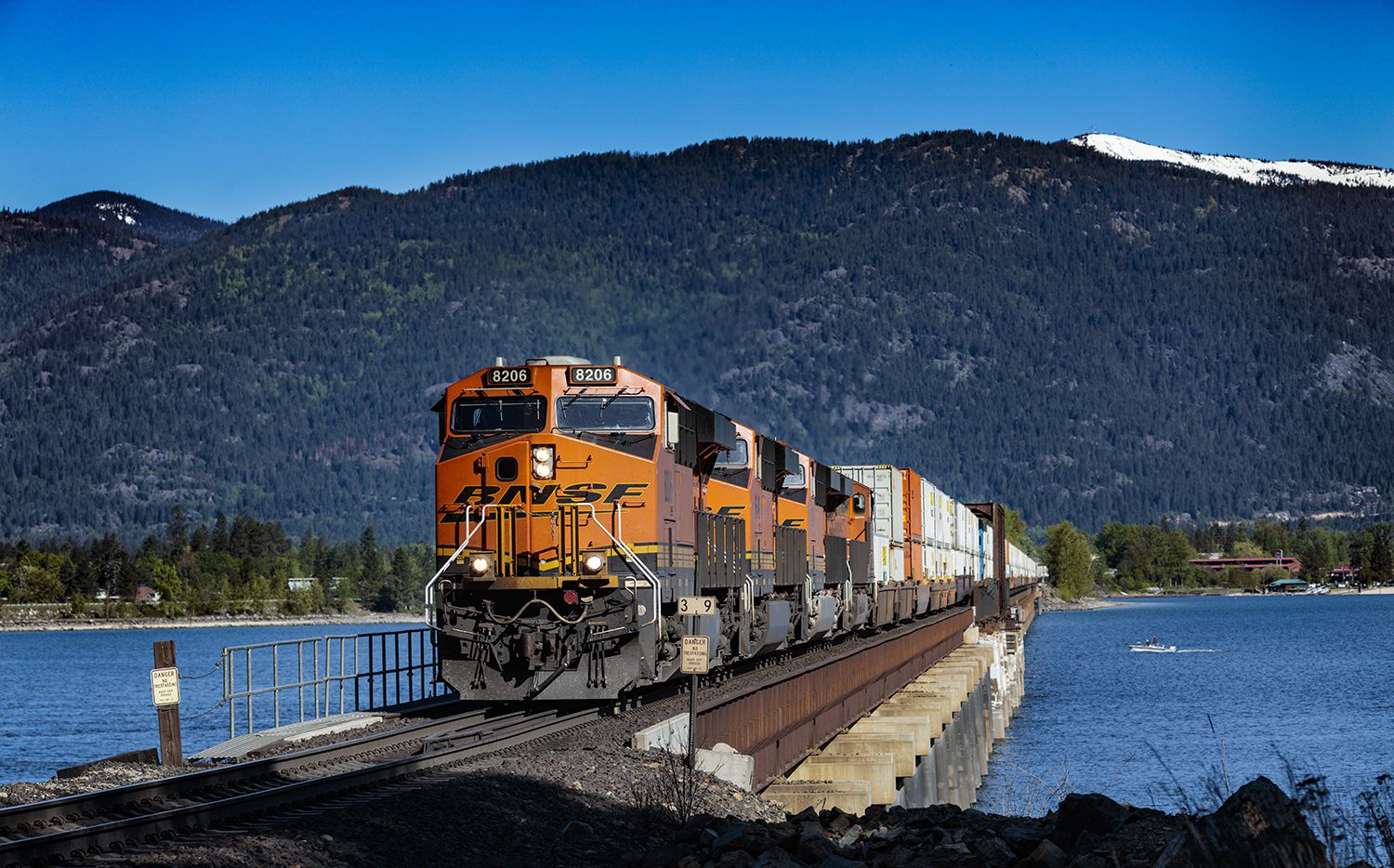 BNSF Railway operates one of the largest rail networks in North America, yet it's had to reduce its workforce due to COVID-related shipment volume declines.