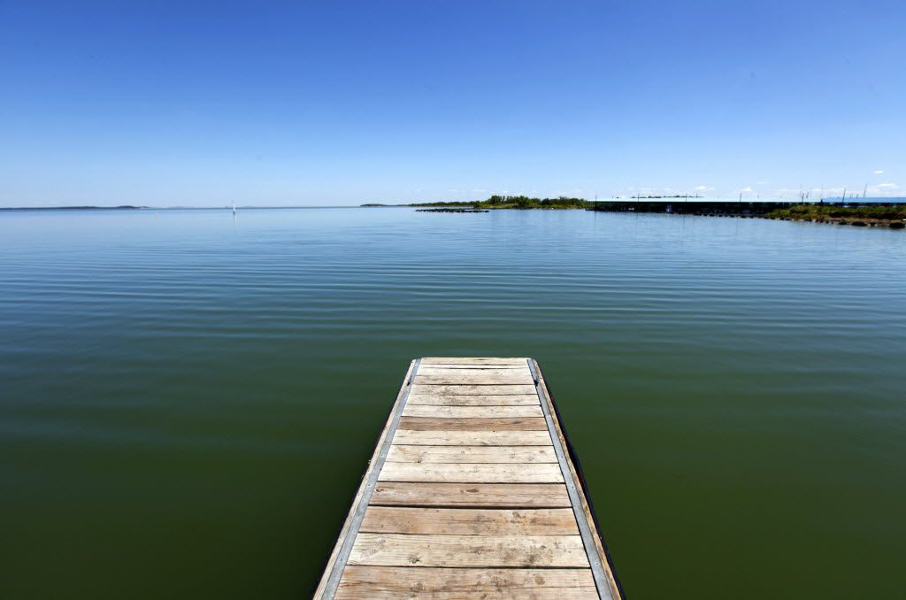 Calm waters on Lake Ray Roberts, Thursday, July 19, 2012. (Tom Fox/The Dallas Morning News)