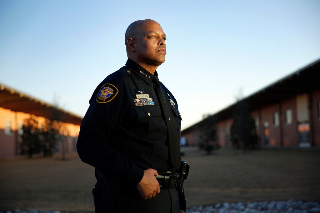 """Former Fort Worth Police Chief Joel Fitzgerald was fired in May because of a """"culmination of problems,"""" city officials said. Fitzgerald is now suing the city and wants his job back."""
