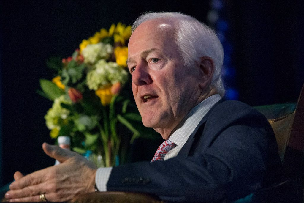 U.S. Sen. John Cornyn, R-Texas, says new means of funding highways are needed.