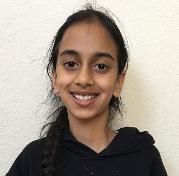Riya Chhaya, a fifth-grader in Plano ISD, is a finalist in an kindness speech contest that has drawn international interest.
