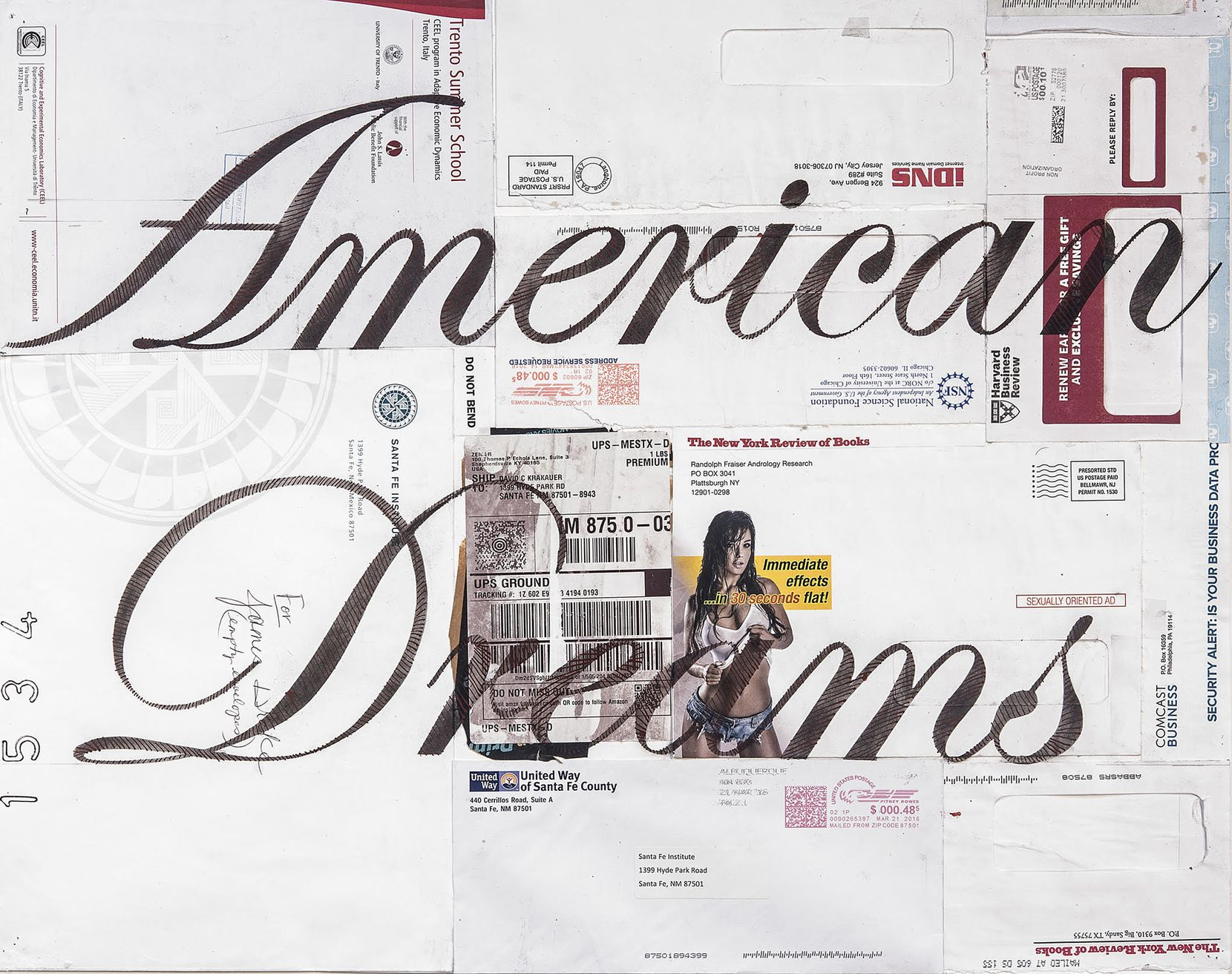 James Drake, 'American Dreams,' 2017. It's one of the works of art being offered through a new online platform called Culture Place.