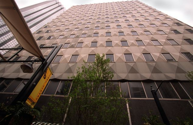 The Praetorian Building, April 25, 2002.