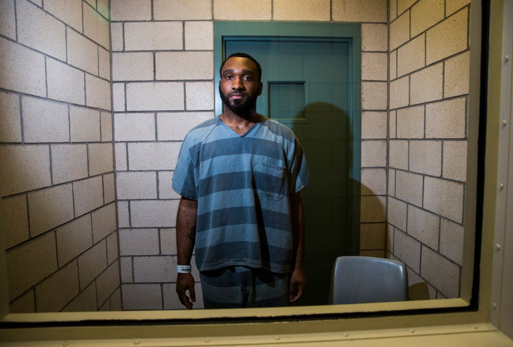 Carl Govan, shown here on Aug. 2, at the Dallas County Jail, is accused of scamming several families in to buying homes that he didn't have the right to sell.