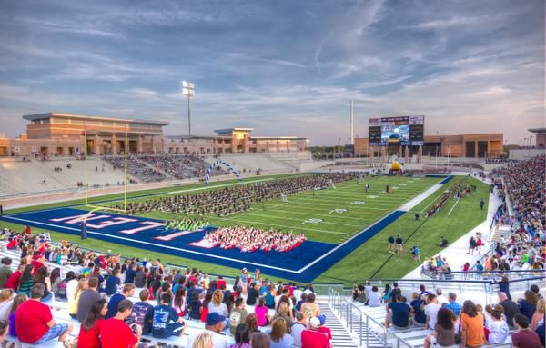Eagle Stadium will be limited to a 50% capacity in the 2020 football season.
