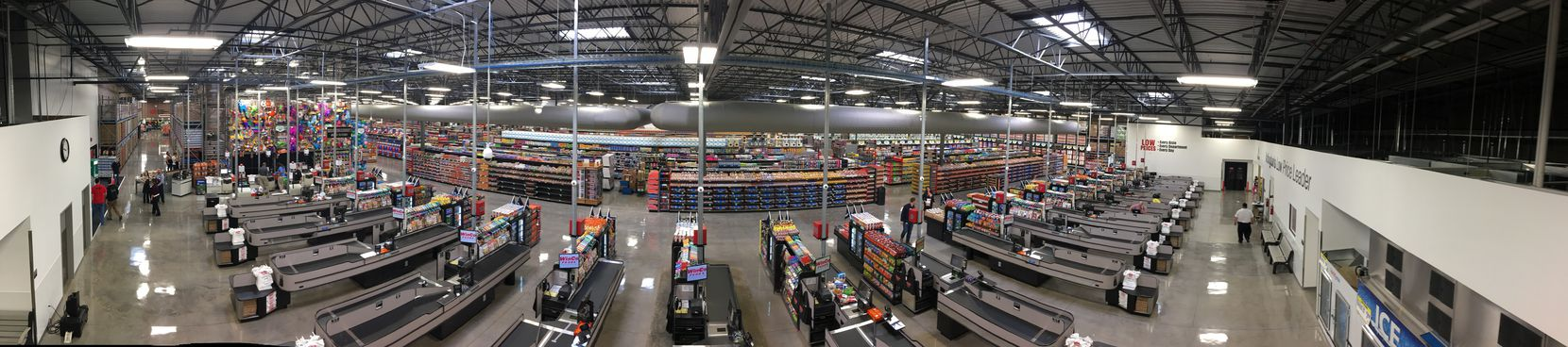 WinCo opened a store in at 4620 S. Cooper St. in Arlington in 2016 in a building that had housed a Sports Authority.