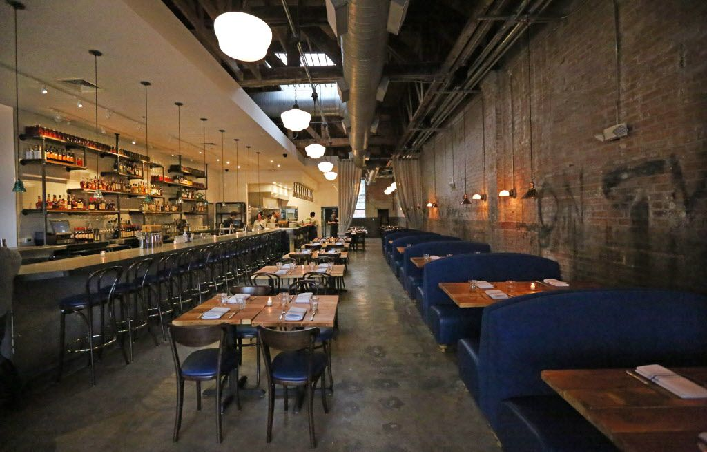 A look at the interior of Filament, a restaurant at 2626 Main Street in Deep Ellum in Dallas, photographed on Tuesday, December 1, 2015. (Louis DeLuca/The Dallas Morning News)